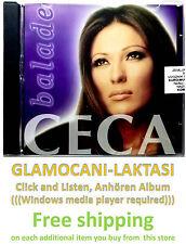 CD CECA - BALADE COMPILATION 2003 Hi-Fi centar  Serbia Bosnia Croatia Folk