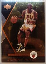1998-99 UPPER DECK JORDAN RULES #J3, MICHAEL JORDAN, Rare Bronze MJ Insert