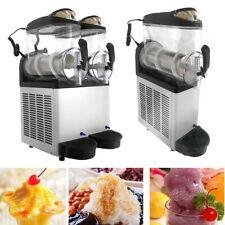 Commercial Making Margarita Machine 24l 30l Slush Frozen Drink Ice Maker 2 Tank