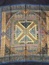 Carré  Foulard hermes 90 Cms Soie Sur Un Tapis Volant 2006 Collector Scarf 35