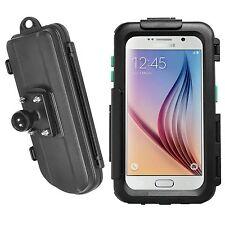 "Motorrad Hardcase wasserdicht Samsung Galaxy S6 S6 edge & RAM Mount Kugel 1""Zoll"