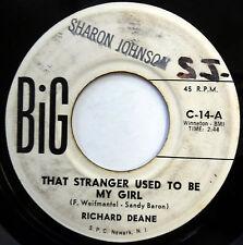 RICHARD DEANE 45 That stranger Used To Be My Girl / Next Door.. R&B Bopper m244