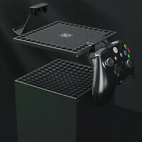 For Xbox Series X Host Heat Sink  Dust Cover Net &Controller Handle Stand Holder
