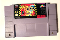 Crash Dummies Super Nintendo SNES Game Tested + Working & Authentic!