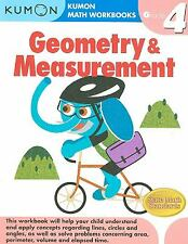 Grade 4 Geometry and Measurement by Kumon Publishing North America