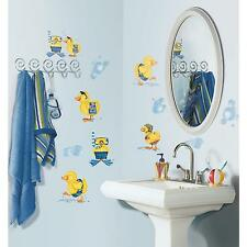 DUCKS Bubble Bath wall stickers 29 decals Rubber Duckies bathroom scrapbook