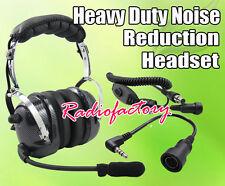 4-081 + 44-y Heavy duty Noise Cancelling Headset for YAESU VX-3R FT-60R