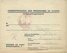 POW Camp 133 Brioude France 1946 German Prisoner of War Kriegsgefangenenpost 18