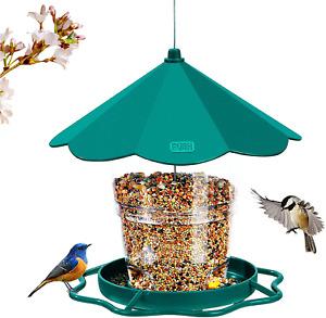 Squirrel Proof Bird Feeder and Garden Decoration
