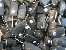 Job Lot of 25 VW Volkswagen Keys Remotes Controls Key Fobs 3 Buttons