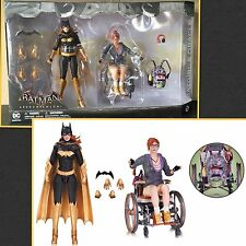 BATMAN ARKHAM KNIGHT BATGIRL ORACLE AF 2 PACK DC COMICS