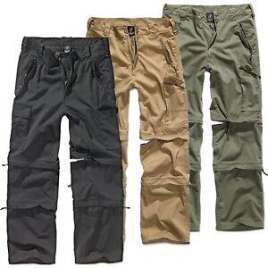 Brandit Savannah Outdoor Trekking Hose Herren Zip Off Cargo 3in1 Trousers S-3XL