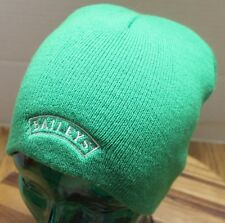 BAILEYS IRISH CREAM ALCOHOL DRING TODDY WINTER BEANIE HAT GREEN OSFM VGC