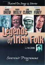 LEGENDS OF IRISH FOLK CONCERT PROGRAMME 2005 DUBLIN MINT EXCEPTIONAL RARE GEM