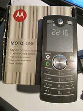 MOTOFONE F Motorola  silber / schwarz  Simfrei   super o.k. gebr- Art. 38 X