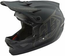 Troy Lee Designs D3 AS Fiberlite Full Face Bike Helmet Mono Black