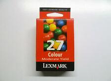 Lexmark 27 color x74 x75 x1100 x1200 x2200 z13 z23 z25 z33 z35 z500 --- OVP ND