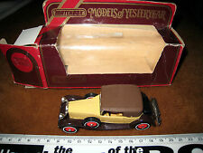 1984 MATCHBOX Y-15 1930 Packard Victoria 1:46 Lesney 1969 IN SCATOLA MODELLI a1u9
