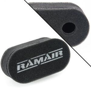 1 x RAMAIR Carb Sock Air Filter Double Trumpet Weber DCOE Dellorto DHLA CS-906