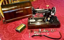Vintage SINGER SEWING MACHINE Model 99  KNEE BAR Control Circa 1932 Exceptional