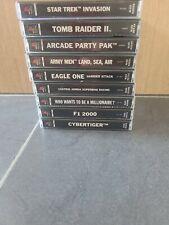 Sony Play Station 1 Videospiele Auswahl verschiedene Titel ps1 wählen