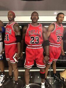 Enterbay - Chicago Bulls Lot- 1/6 Scale NBA Jordan, Pippen, Rodman