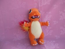 POKEMON genuine vintage nintendo CHARMANDER 10in soft /  plush toy