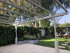 Veranda/garden structure/choice of colours/glass roof /4000X3000 Proj