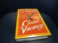 THE CASUAL VACANCY by J. K. Rowling 2012 Hardcover First Edition