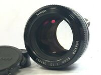 [RARE Mint READ] Nikon Nikkor 55mm f1.2 Non-Ai MF Standard Prime Lens from JAPAN