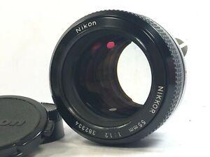 [RARE Mint READ] Nikon Nikkor 55mm f1.2 Non-Ai MF Standard Prime Lens from JAPAN