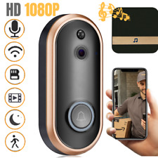 1080P WiFi Smart Doorbell Camera Chime Video Intercom Wireless Security Kit