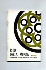 RITO DELLA MESSA # Marietti 1969