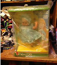 UNEEDA BABY AGATHA SOFT FILLED DOLL 14' STYLE NO 31670 / REAL PICS / WRONGWAY052