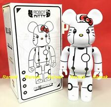 Medicom Be@rbrick 2017 Action City 400% Robot Hello Kitty White ver. Bearbrick