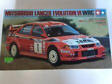 Tamiya 1:24 Mitsubishi Lancer Evolution VI WRC