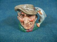 "Royal Doulton The Poacher 2 3/8"" Tall Character / Toby Jug"