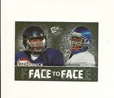 2011 Press Pass Face to Face #FF14 Colin Kaepernick Titus Young Insert Boise