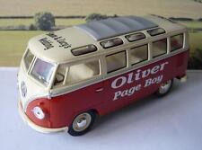 WEDDING DAY Name Gift Personalised Page Boy Best Man 17cm Big 1/24 VW Camper Bus