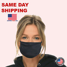 Face cover mask-Dual layer-Washable and reusable-Made in USA Anti-microbial.
