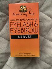 Sunny isle jamaican black castor oil Eyelash & Eyebrow Serum 59ml Brand New
