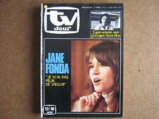 TV JOUR 78/32 (9/8/78) JANE FONDA GONZAGUE SAINT-BRIS