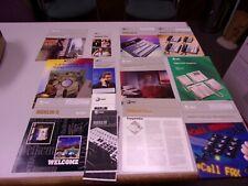 Huge Lot Vintage 1980s Atampt Merlin Telephone System Brochures Data Sheet