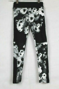Justice Active Black Floral High Waist Legging - Sizes 6, 7, 12