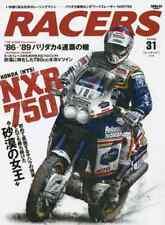 Racers magazine Vol.31 book Honda NXR 750 photo rally Paris Dakar