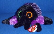 "TY BEANIE BOOS - CREEPER the 6"" HALLOWEEN SPIDER with MINT TAG - PLEASE READ"