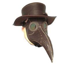 pestdoktor maske Handarbeit, Echtes Leder