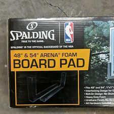 Spalding Basketball 48� & 54� Arena Foam Board Pad (Fits 1�x1� Backboards) Nib