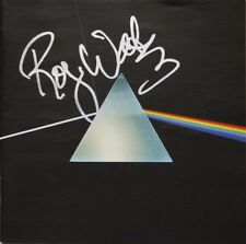 Dark Side of the Moon CD booklet hand signed by Roger Waters and brand new CD