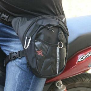 Men's Riding Waist Bag Drop Leg Bag Motorcycle Outdoor Hiking Camping Travel Bag